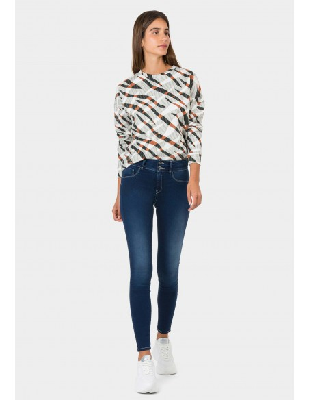 Jeans push up mujer